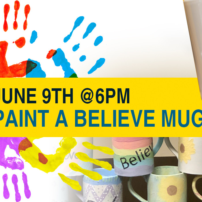 Paint A Believe Mug for a Child Fighting Cancer