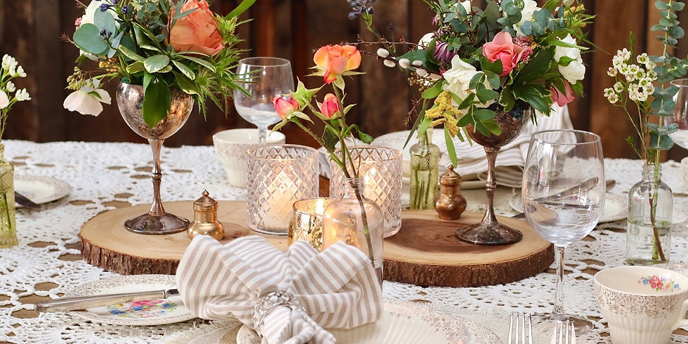 Grace Table - Special tickets 50% off first ten tables sold!! Price already reduced from $50 to $25