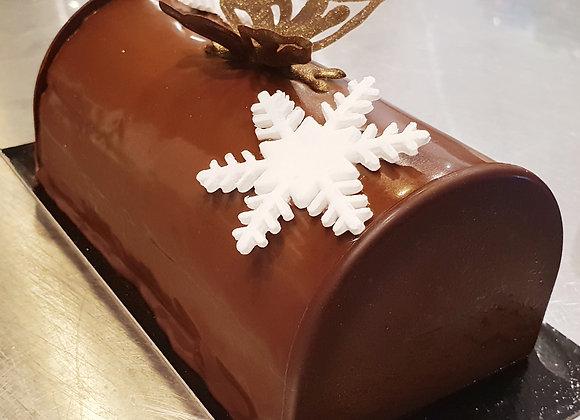 Dimanche 12 décembre 2021 : Bûche Chocolat praliné noisette (4h)