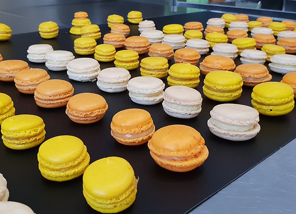 Samedi 26 juin 2021 : Macarons exotiques (2h)