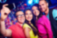 33301445-happy-friends-taking-selfie-at-