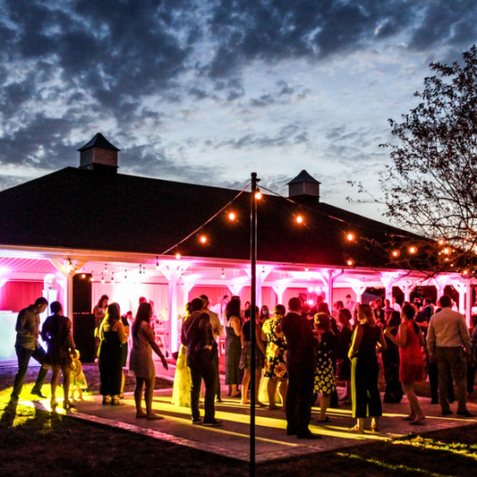 Lighting Outdoor Wedding Pavilion