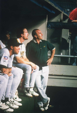 In the Dugout with Mark McGwire