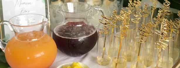 CUSTOM Acrylic Drink Stirrers (set of 12)