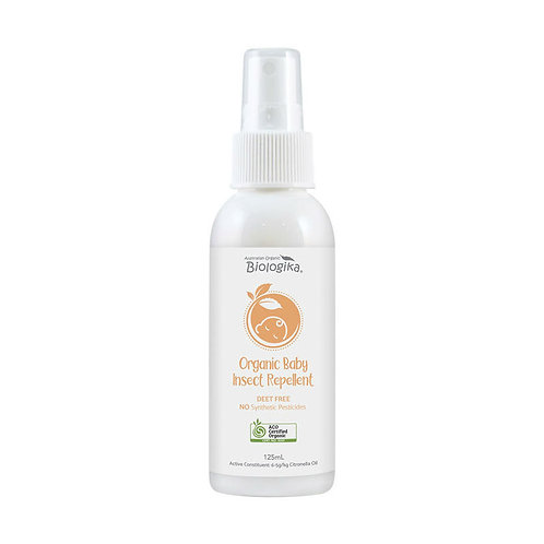 嬰幼兒有機天然驅蟲噴霧 (125ml) Biologika Baby Insect Repellent