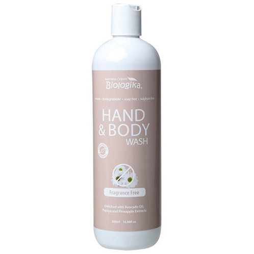 Biologika 低敏 無香料沐浴露 /洗手液