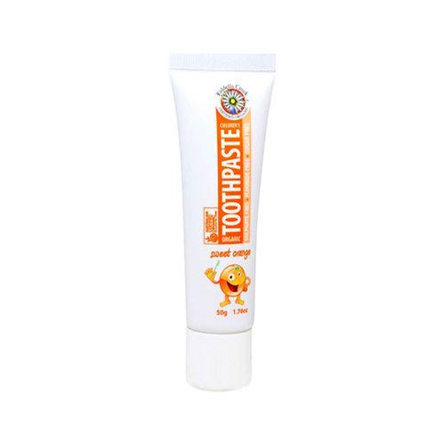 兒童有機不含氟化物牙膏-橙味 (50g) Toothpaste for kids - Orange
