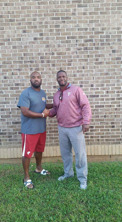 Troy DB coach Al Pogue