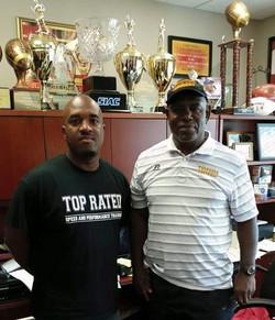 Tuskegee Head Coach Willie Slater
