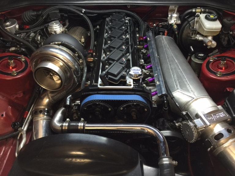 Saad Racing IGN1A Toyota Supra MKIV 2JZ-GTE / 2JZ-GTE VVTI coil system