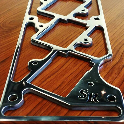 Saad Racing Toyota Supra MKIV 2JZ-GTE IGN1A coil bracket with hardware. Polished