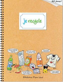 """Cahier de jeux """"Je recycle"""""""