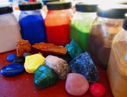 Pigments pour enluminures