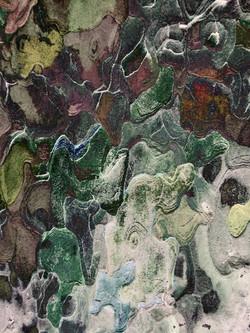 Mosaïque d'écorce