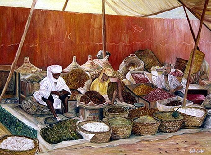 Marché aux épices, Goulimine - Maroc