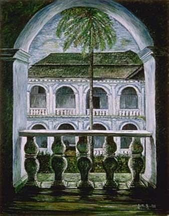 Bâtisse coloniale, Goa - Indes