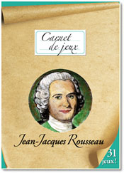 Carnet de jeux Jean-Jacques Rousseau