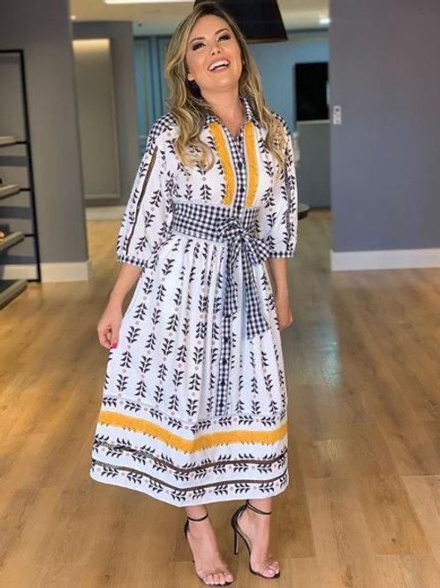 Etnische stijl jurk