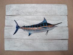 Marlin bleu 19x25cm