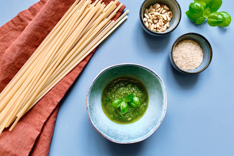 10 Minuten für ein selbstgemachtes veganes Pesto Verde