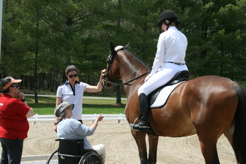 Almonte Training Camp Offers Information and Opportunity for Para-Dressage Athletes  on High Perform