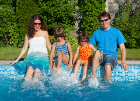 polar bear pool service - our customers