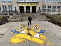 Homewood Bulldog at Westinghouse High School