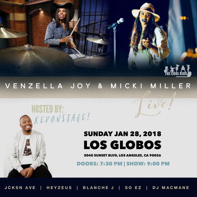 Venzella Joy Live in LA