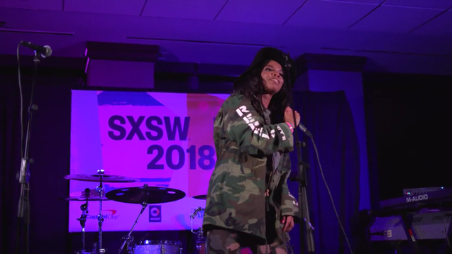Venzella Joy Performs at SXSW