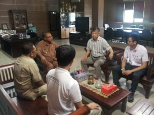일본 쇼와 화학 KNI 인도네시아 현장 방문