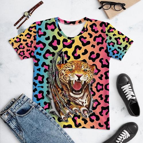 Rainbow Leopard Women's T-shirt