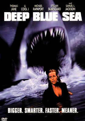 Deep Blue Sea (1999) - Shark phobia? It will have you running for the hills.