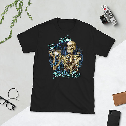 Short-Sleeve Unisex T-Shirt - Time Waits for No One