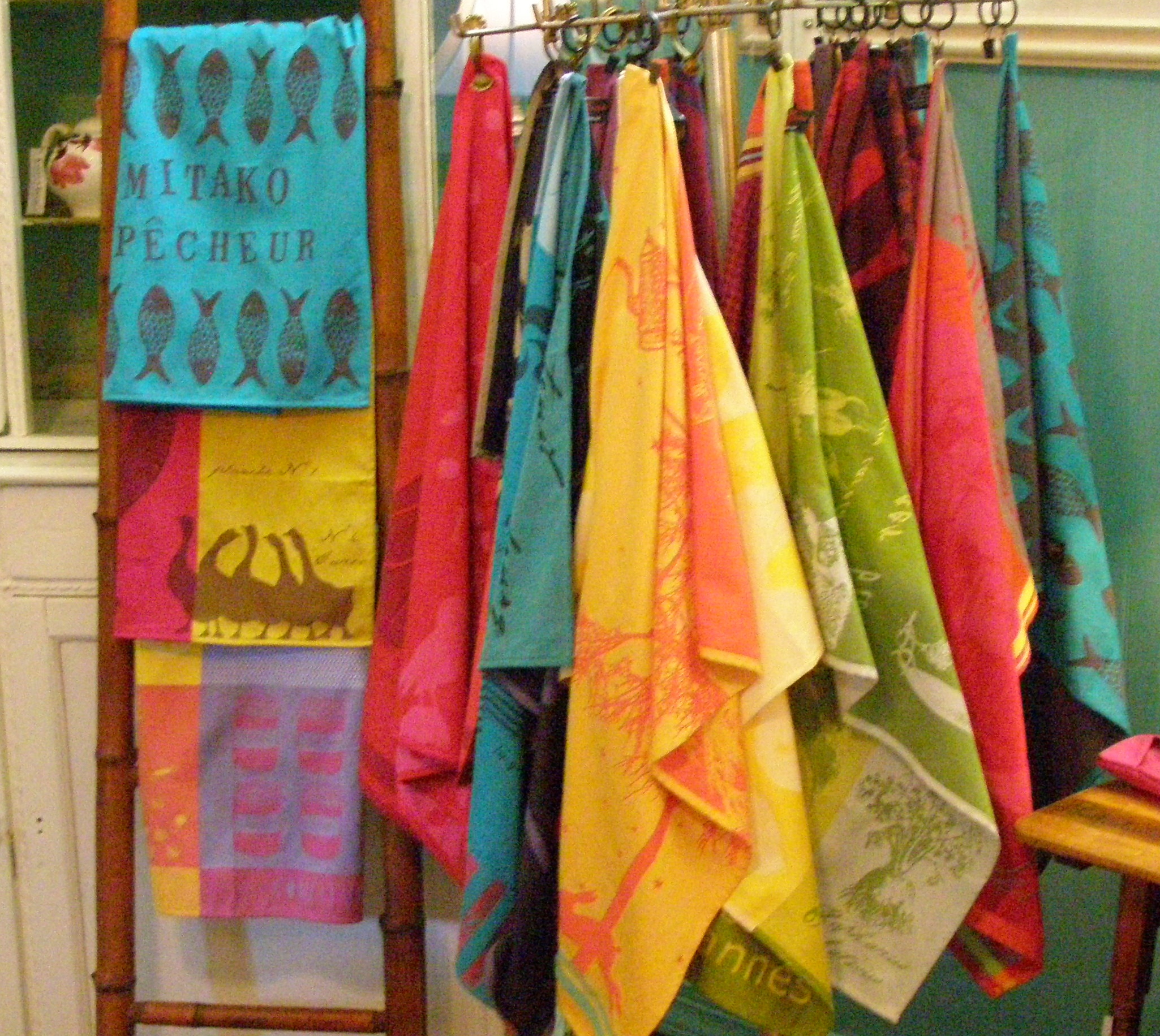 French Print Towels