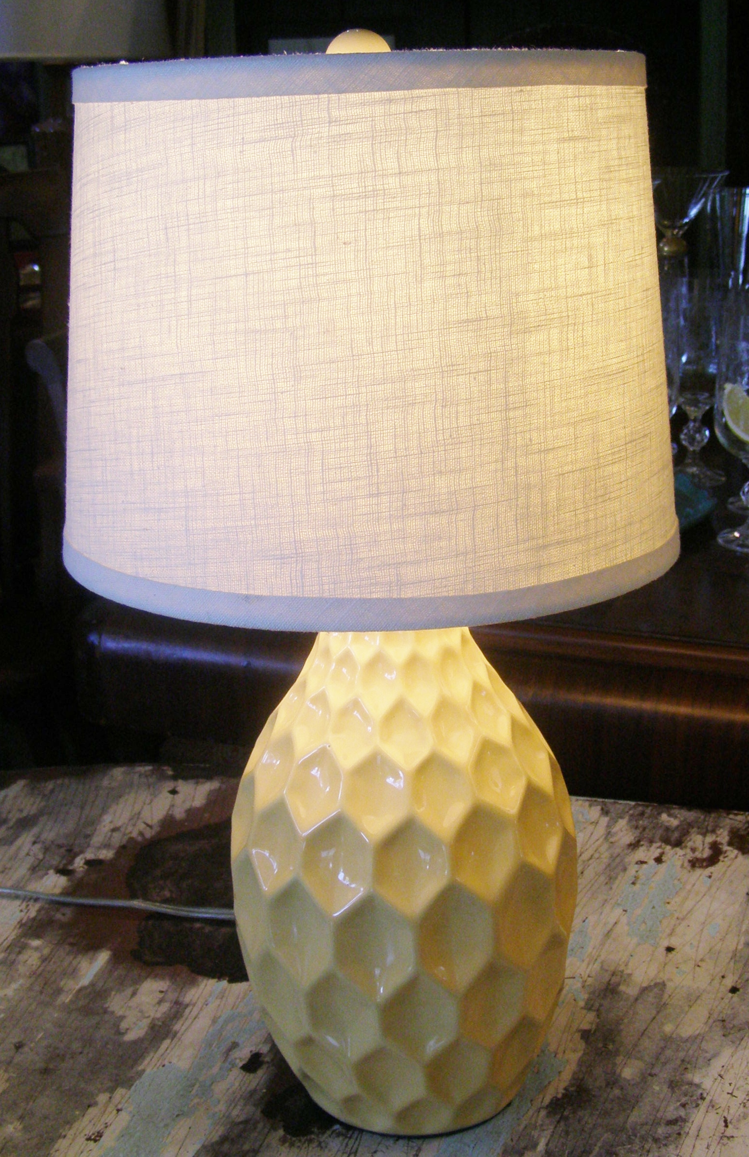 60's Yellow Lamp