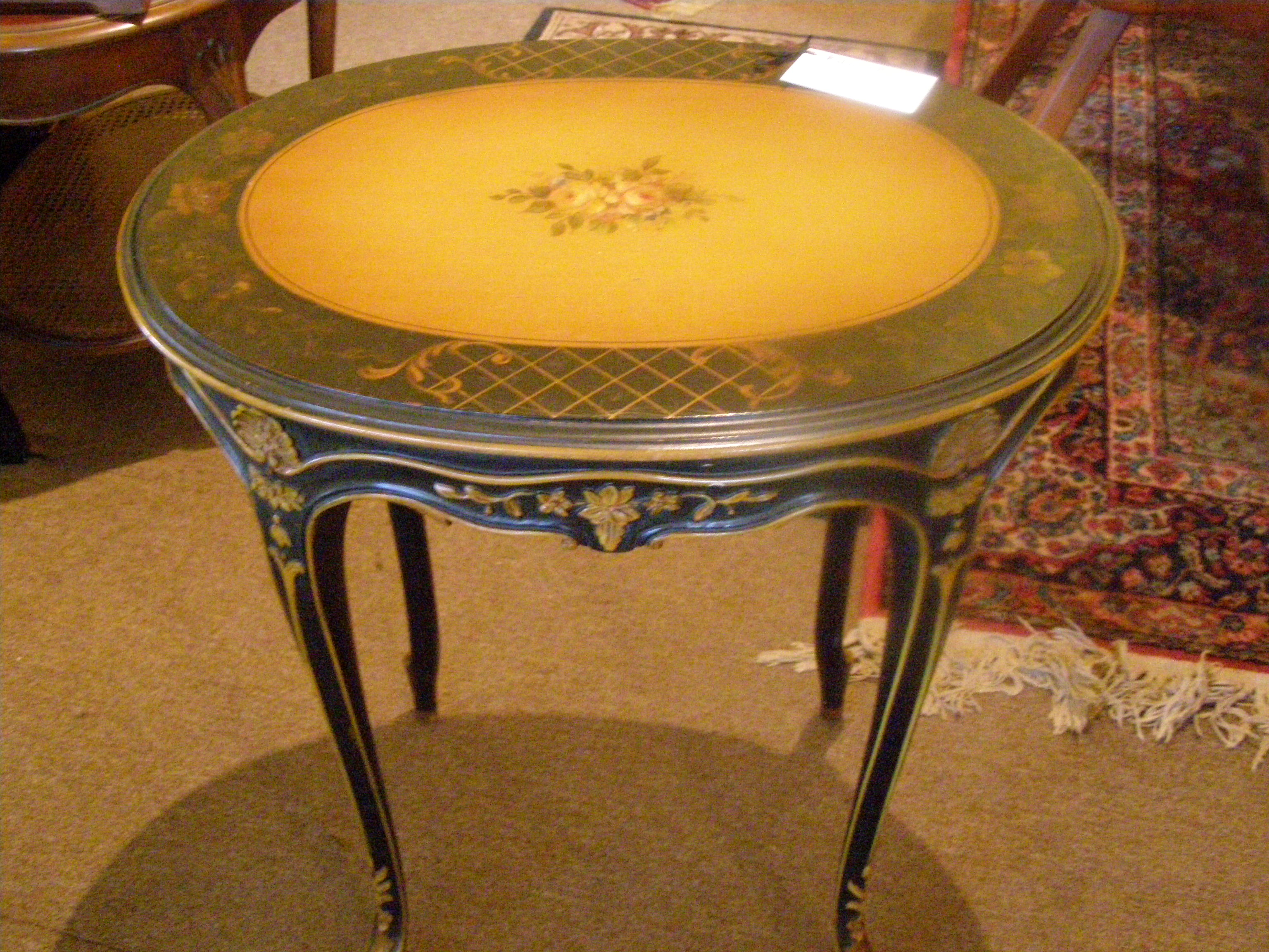 1930's French Style Table - $295