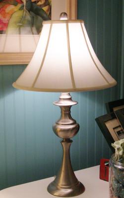 Brushed Chrome Lamp