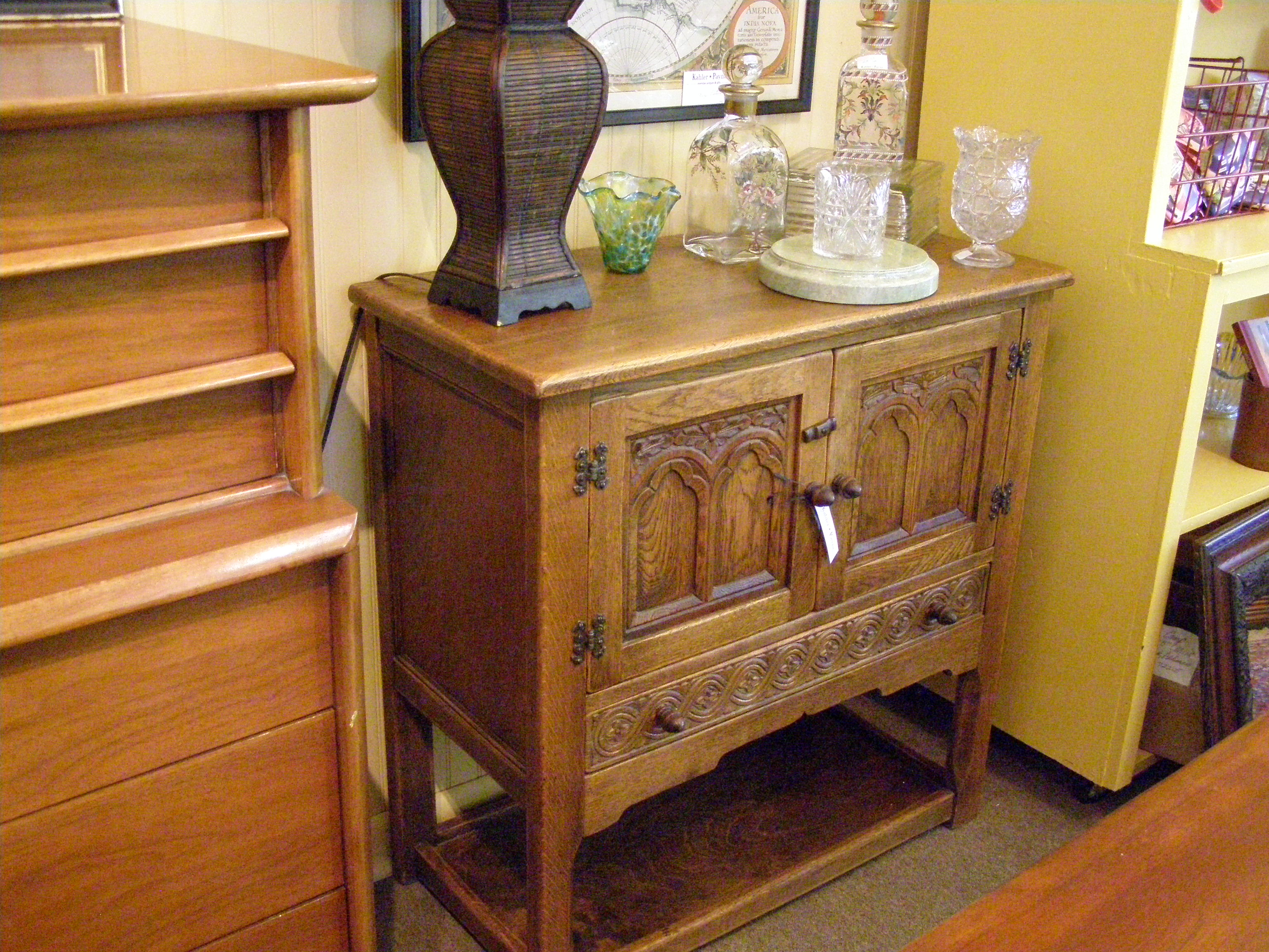 Ethan Allen Cabinet - $395