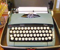 Vintage Sears Typewriter
