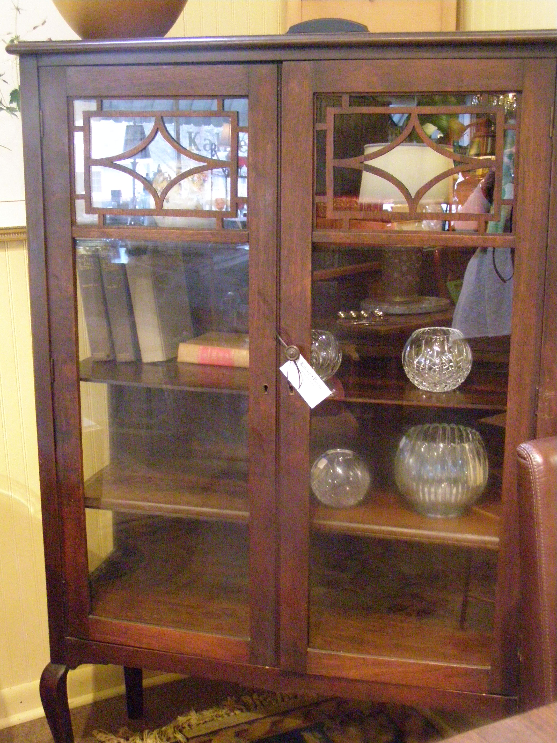 Queen Anne China Cabinet - $495
