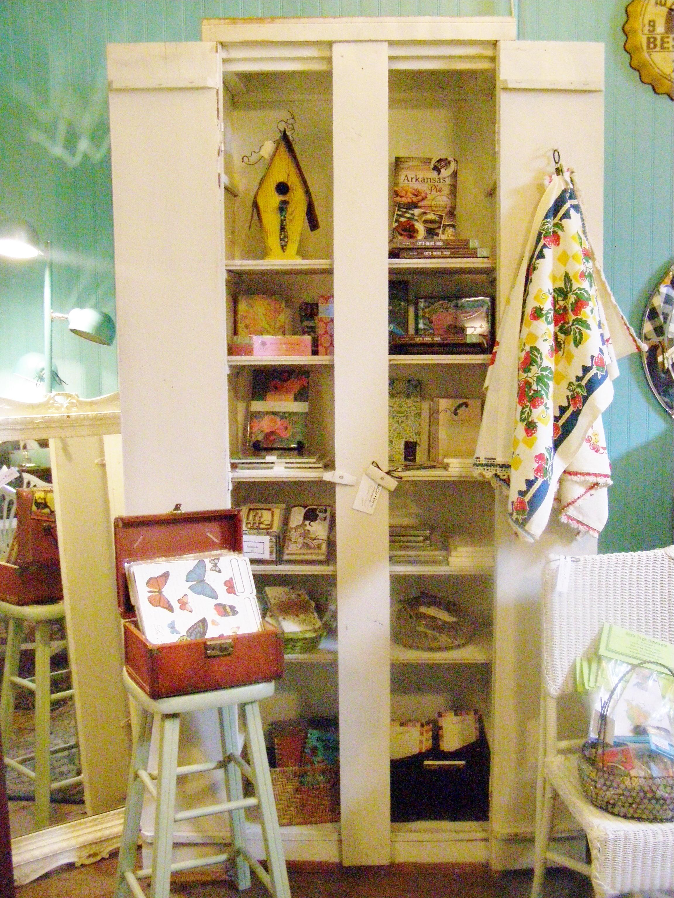 Handmade Cottage Cabinet - $145