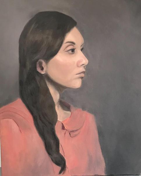 portret naar leven model