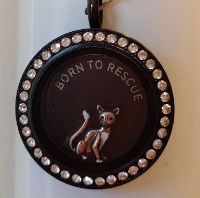 born to rescue locket