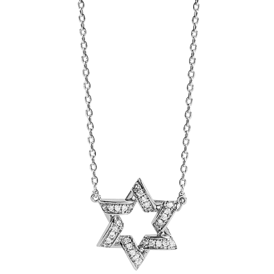 star of david silver  NL1027