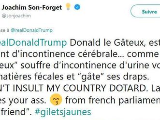 Le Comité Trump France exige la démission du député LREM Joachim Son-Forget