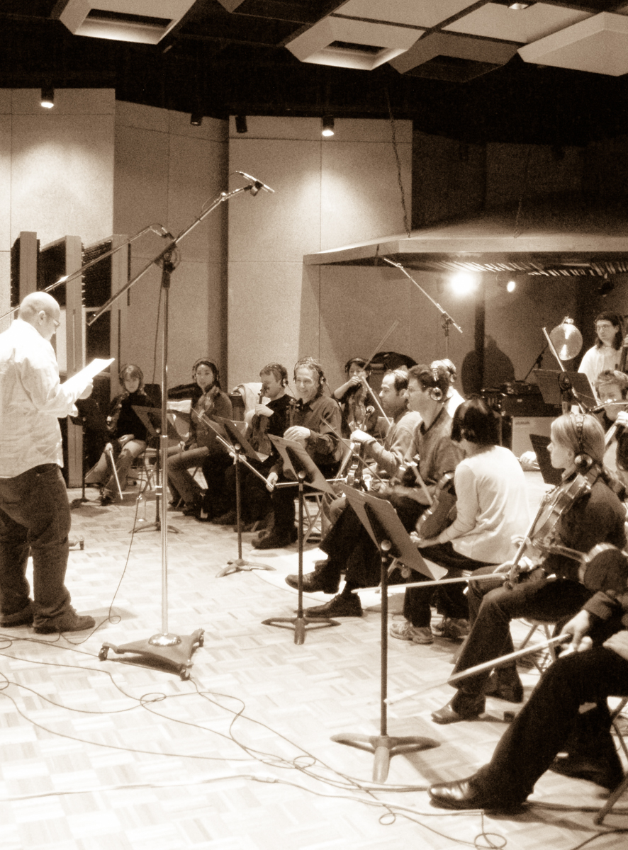 Recording strings for White Birds