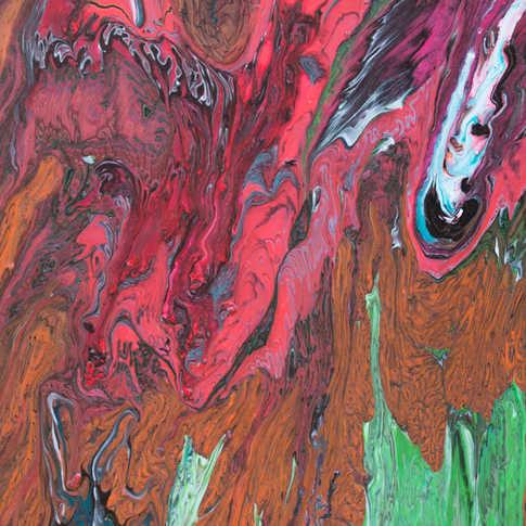 Inner Space 16Wx20H Full Painting
