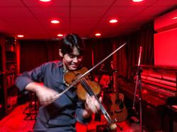 Recording Violin with Jonathan Miron