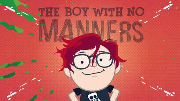 The boy with no manners