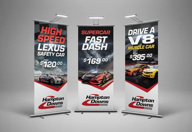 Hampton Downs Banners